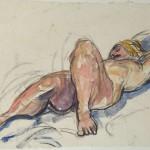 Hélène liggend