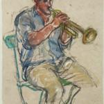 Trompetspeler Dolan Johns
