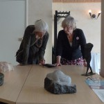 Anneke Dammers en bezoekster