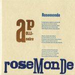 Rosemonde, linkerkant
