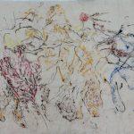 Afbeelding van Pescadero. Pastel op rijstpapier.
