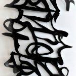 Afbeelding van kalligrafie, Vrijheid in vorm.