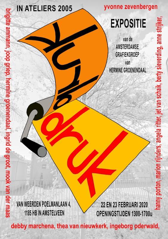 """Afbeelding van de poster """"Druk5 Amstelveen"""""""