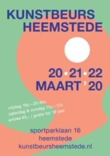 """Afbeelding van de poster """"Kunstbeurs Heemstede"""""""