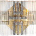 """Afbeelding van het kunstwerk """"ORGANIZED CHAOS GOLD 7"""""""