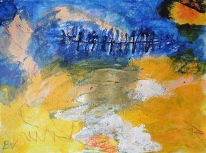 """Afbeelding van het kunstwerk """" Van Gogh bij nacht"""""""