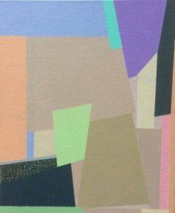 """Afbeelding van het kunstwerk """"Doorgaan-Compositie 33"""""""