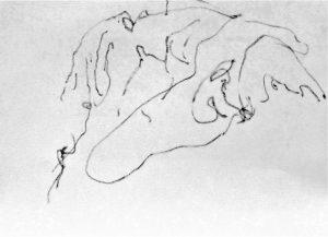 """Afbeelding van het kunstwerk """"Lakenlandschap 8"""""""