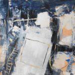"""Afbeelding van het kunstwerk """"Winternacht"""""""