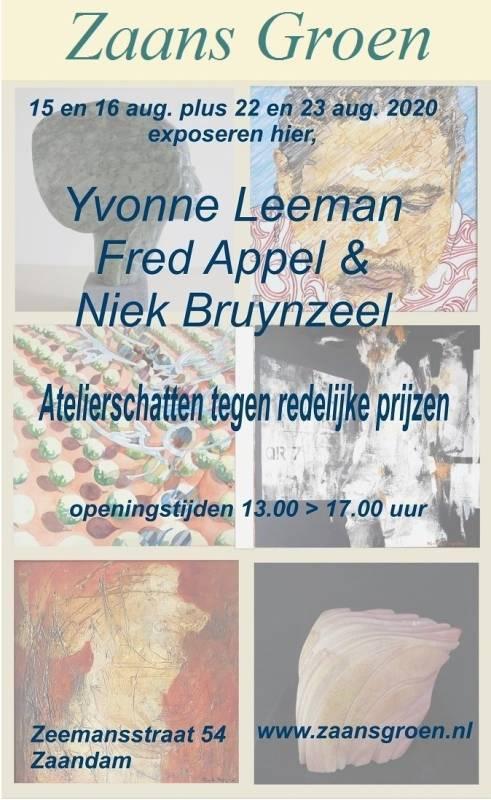 Afbeelding poster Zaans Groen