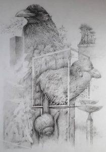 """Afbeelding van het kunstwerk """"Loop der dingen"""""""