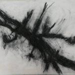 """Afbeelding van het kunstwerk """"Notenboomtak"""""""