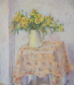 """Afbeelding van het kunstwerk """"Oktoberbloemen"""""""