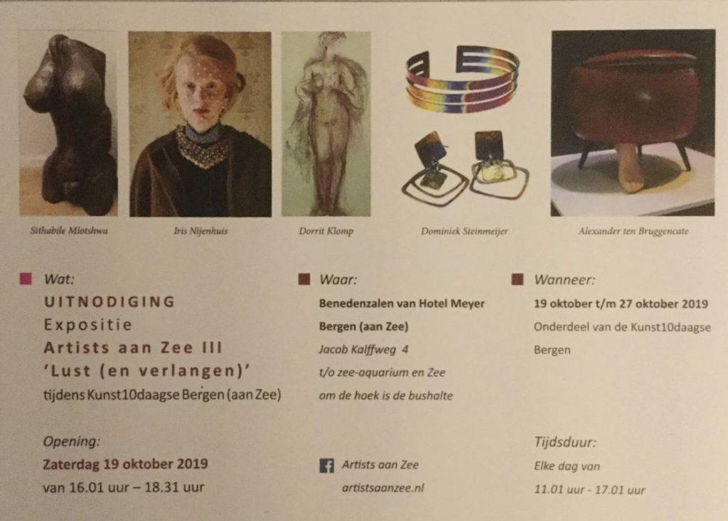 Uitnodiging Kunst 10 daagse Bergen