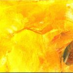 "Afbeelding van kunstwerk ""gele collage"""