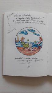 """Afbeelding van het kunstwerk """"Buiten Borrel"""""""
