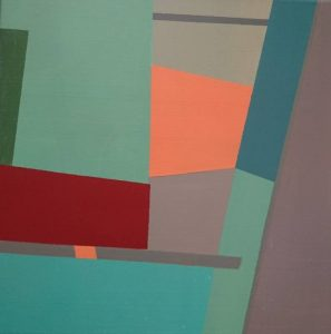 """Afbeelding van het kunstwerk """"Doogaan-compositie nr 32"""""""
