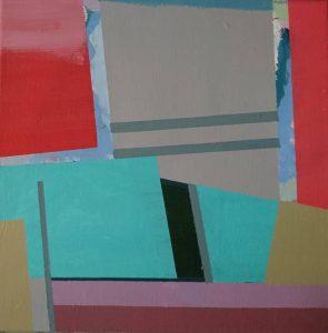 """Afbeelding van het kunstwerk """"Doogaan-compositie nr 34"""""""