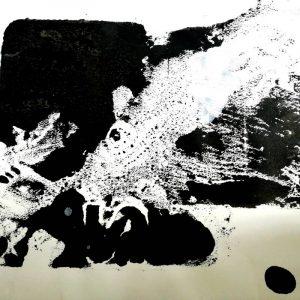 """Afbeelding van het werk """"The fish and the bird"""""""