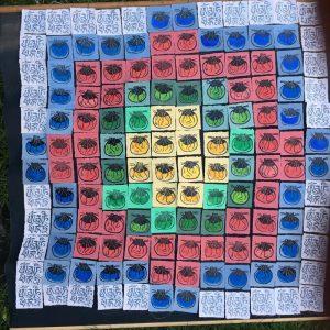 """Afbeelding van het kunstwerk """"108 buideltjes"""""""