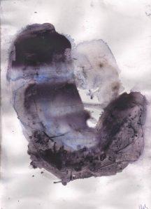 """Afbeelding van het kunstwerk """"Met blauw 03"""""""
