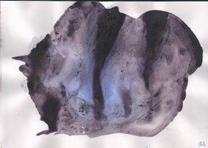 """Afbeelding van het kunstwerk """"Met blauw 04"""""""