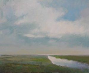 """Afbeelding van het kunstwerk """"stil landschap"""""""