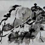 """Afbeelding van het kunstwerk """"Boswandeling II"""""""