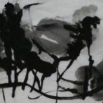 """Afbeelding van het kunstwerk """"Boswandeling III"""""""