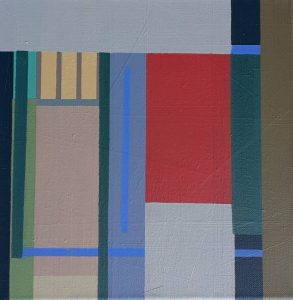 """Afbeelding van het kunstwerk """"Compositie nr. 002"""""""
