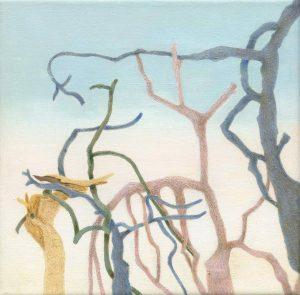 """Afbeelding van het kunstwerk """"Drieluik ( linker deel)"""""""