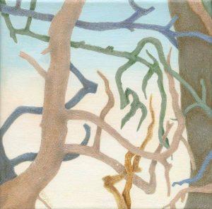"""Afbeelding van het kunstwerk """"Drieluik ( midden deel)"""""""