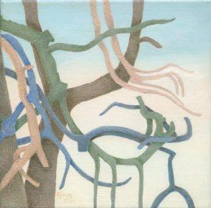"""Afbeelding van het kunstwerk """"Drieluik ( rechter deel)"""""""