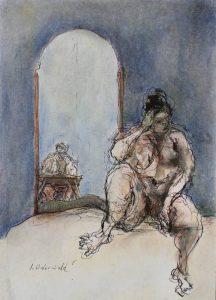 """Afbeelding van het kunstwerk """"Helene en Dick"""""""