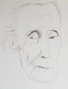 """Afbeelding van het kunstwerk """"Henriëtte Roland Holst"""""""