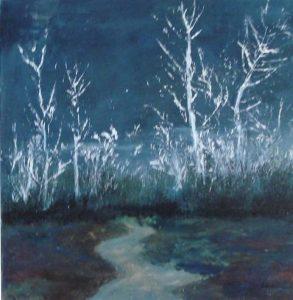 """Afbeelding van het kunstwerk """"Nacht"""""""