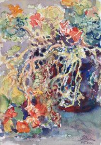"""Afbeelding van het kunstwerk """"Oost Indische kers 4"""""""