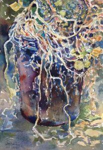 """Afbeelding van het kunstwerk """"Oost Indische kers 6"""""""