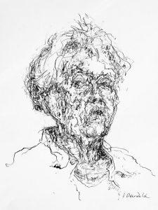 """Afbeelding van het kunstwerk """"Zelfportret"""""""