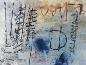 """Afbeelding van het kunstwerk """"Lijnenspel"""""""