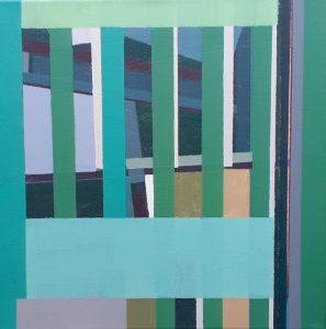 """Afbeelding van het kunstwerk """"Compositie nr. 011"""""""