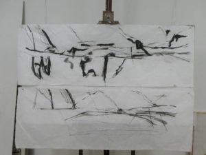 """Afbeelding van het kunstwerk """"2 werken uit serie Reflectie"""""""