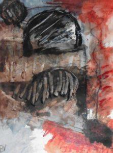 """Afbeelding van het kunstwerk """"Inwijding"""""""
