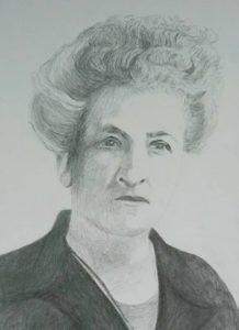 """Afbeelding van het kunstwerk """"Aletta Jacobs 1854-1929"""