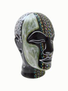 """Afbeelding van het kunstwerk """"Black Head"""""""