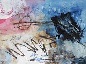 """Afbeelding van het kunstwerk """"Ruimtereis"""""""