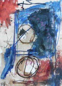 """Afbeelding van het kunstwerk """"Water op de maan"""""""