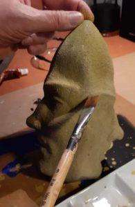 """Afbeelding van het kunstwerk """"Werkend aan de Januskop"""""""