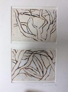 """Afbeelding van het kunstwerk """"Eikenbomen"""""""