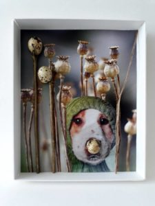 """Afbeelding van het kunstwerk """"Hondje"""""""